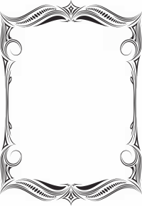 Орнаментальные черно белые рамочки ч Орнаментальные Черно  Открыть ещё рамки в полном размере