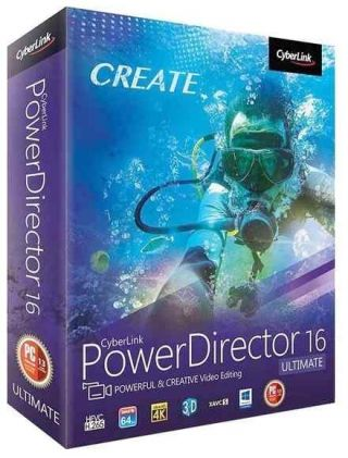 CyberLink PowerDirector Ultimate 16.0.2406.0 RePack by Dilan