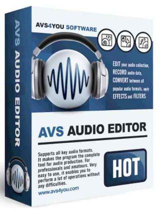 AVS Audio Editor 8.4.4.521 Portable