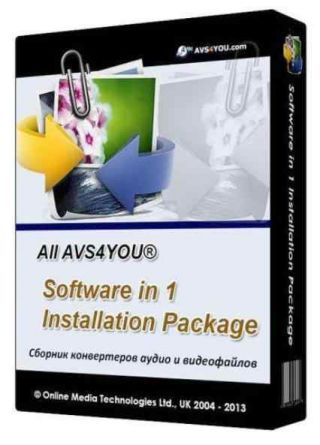 All AVS4YOU Software in 1 Installation Package 4.0.4.148 + Portable