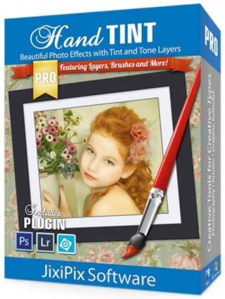 JixiPix Hand Tint Pro 1.06 plugin for Adobe Photoshop + Portable