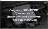 Диагностика бензиновых двигателей.Модуль Практик.(2014) Видеокурс