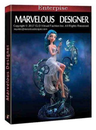 MarvelousDesigner 7.5 Enterprise 4.1.99.32511