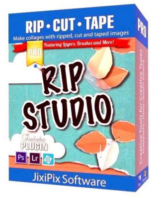 JixiPix Rip Studio 1.1.0 Plugin for Adobe Photoshop + Portable