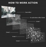GraphicRiver - Animation Snow v2 Action