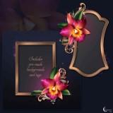 Renderosity - Moonbeam's Romantic Orchids (PNG)