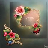 Renderosity - Moonbeam's Enchanted Begonias (PNG)