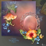 Renderosity - Moonbeam's Fashionably Florale (PNG)
