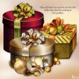 Renderosity - Moonbeams Holiday Gifts (PNG, PSD)